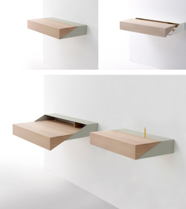 Minimalist Small Pull Out Desk
