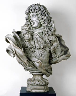 Charles II portrait bust, Honoré Pelle, 1684, Italy. Museum no. 239-1881. © Victoria and Albert Museum, London