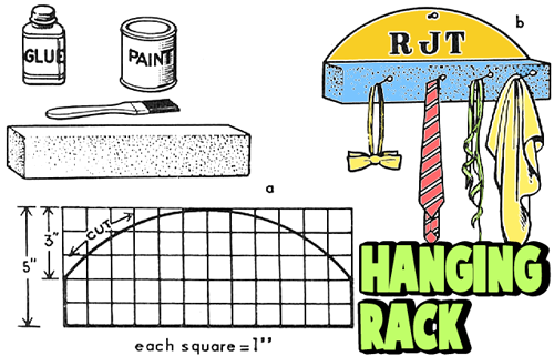 Make Hanging Racks