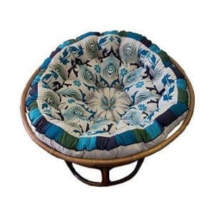 Cotton Craft Papasan Round Chair