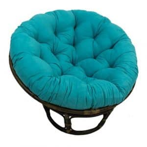 International Caravan 3312-MS-AB-IC Rattan Papasan Chair